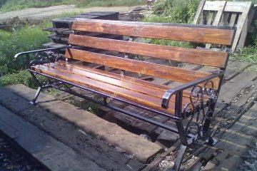 Кованые скамейки 001