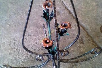 Кованые изделия вешалка 001