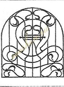 кованые решетки эскизы 23