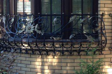 Декоративные кованые решетки 016