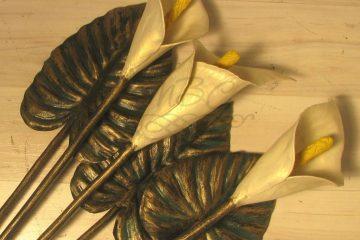 Кованые цветы 004